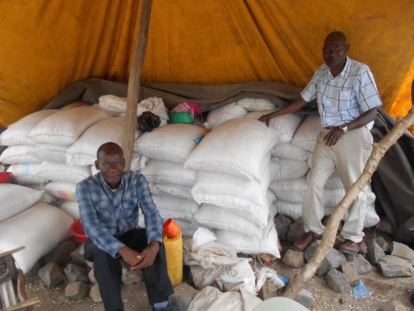 Preparing relief aid